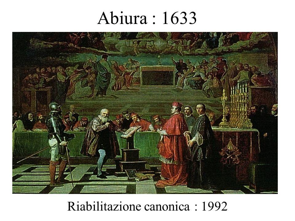 Riabilitazione canonica : 1992