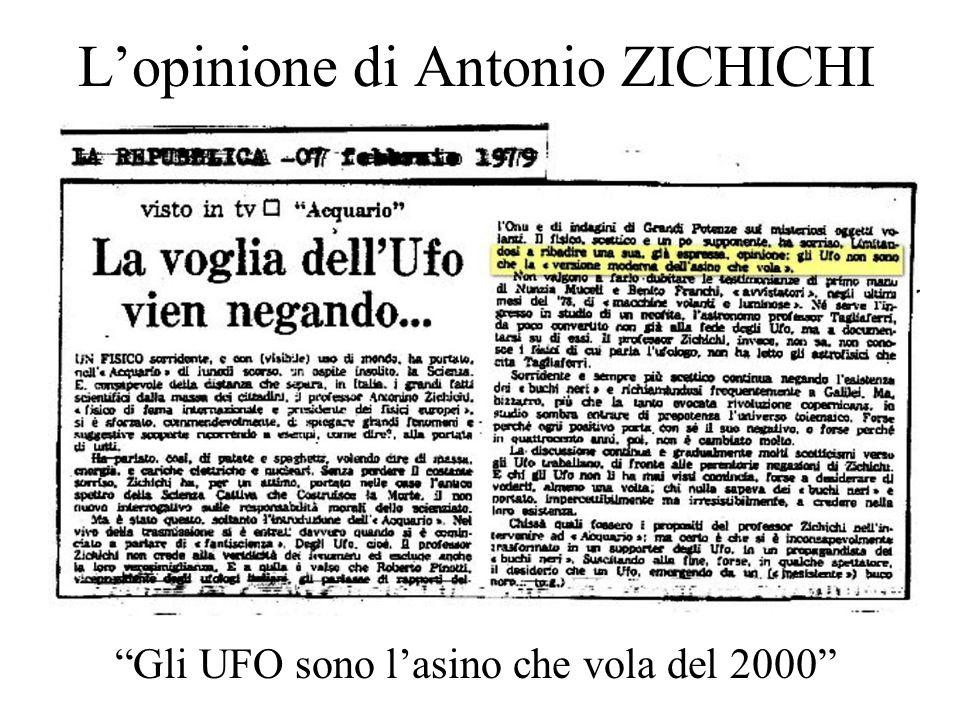 L'opinione di Antonio ZICHICHI