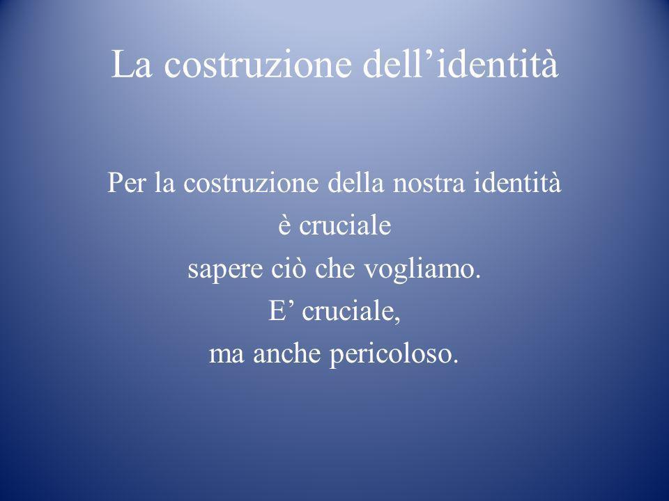 La costruzione dell'identità