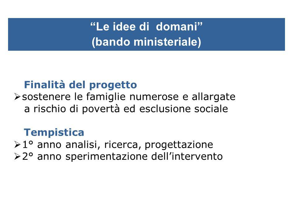 Le idee di domani (bando ministeriale)