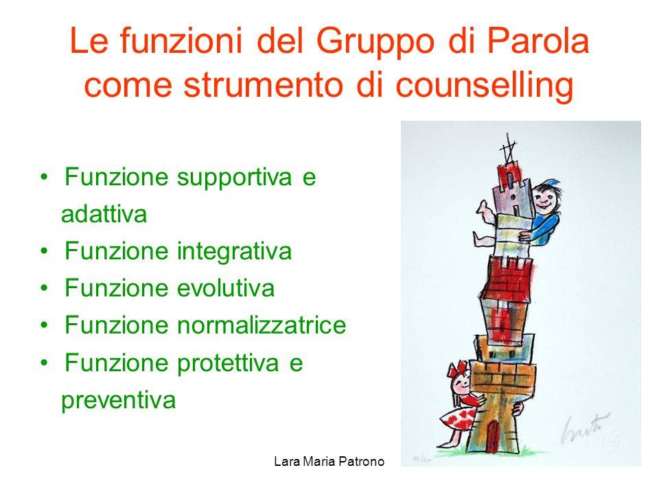 Le funzioni del Gruppo di Parola come strumento di counselling