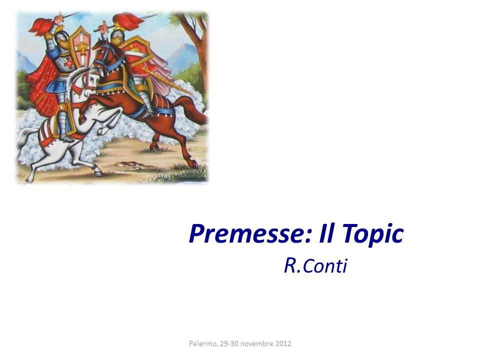 Premesse: Il Topic R.Conti