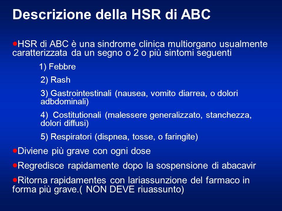Descrizione della HSR di ABC
