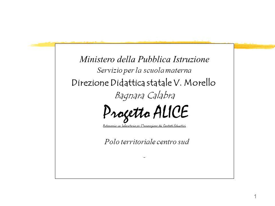 A. GIUNTA/Progetto ALICE 2000