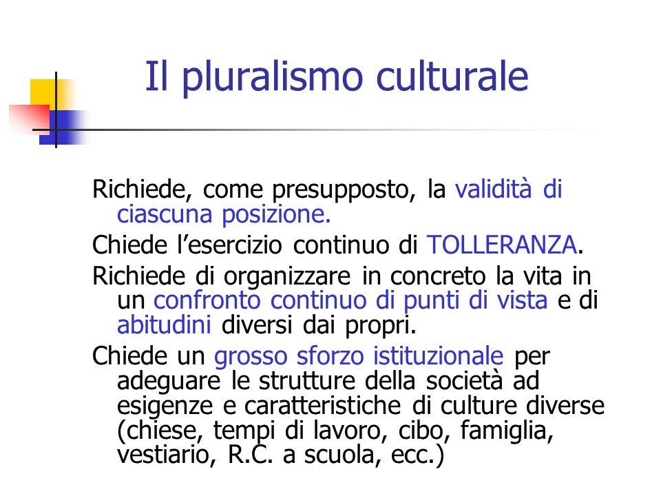 Il pluralismo culturale