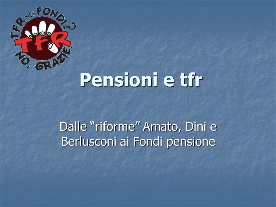 Dalle riforme Amato, Dini e Berlusconi ai Fondi pensione