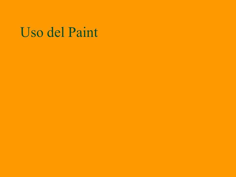 Uso del Paint