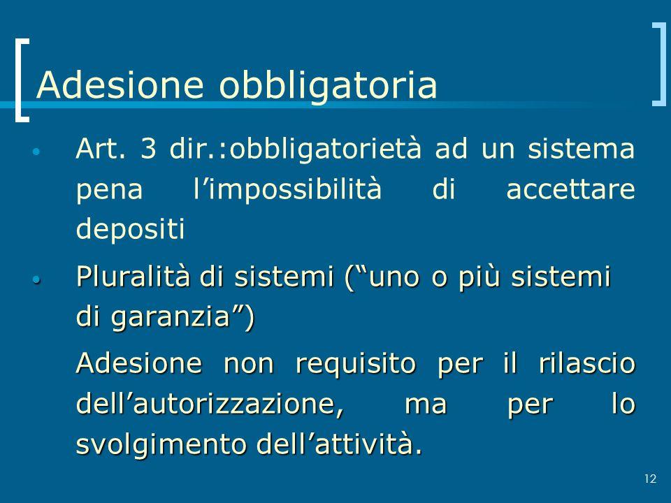 Adesione obbligatoria