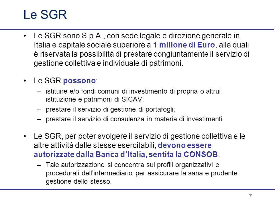 Le SGR