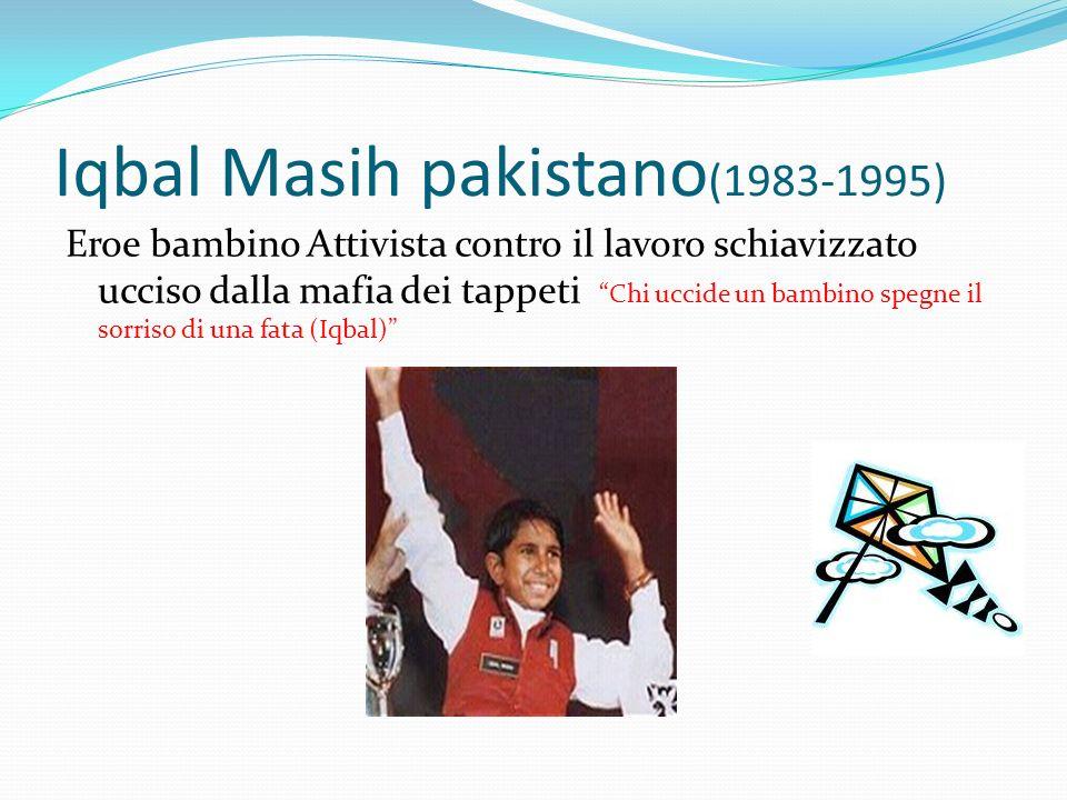Iqbal Masih pakistano(1983-1995)