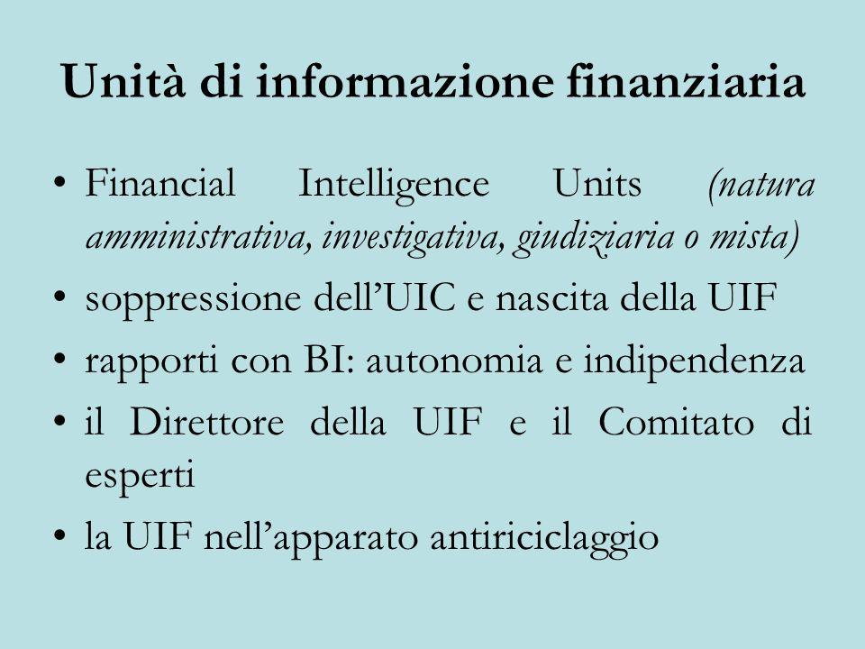 Unità di informazione finanziaria