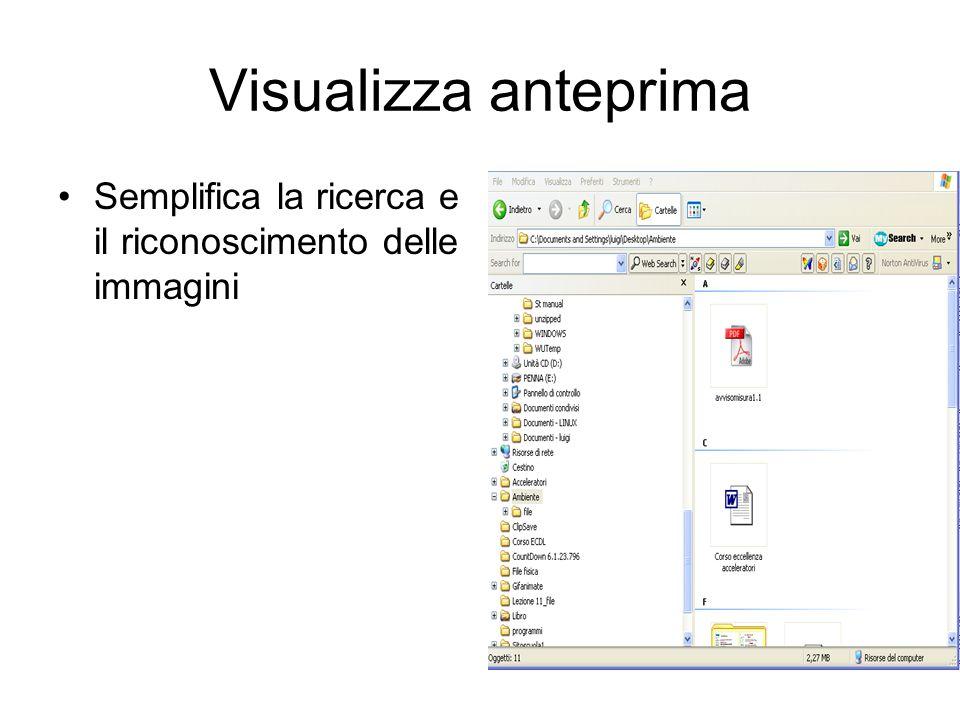 Visualizza anteprima Semplifica la ricerca e il riconoscimento delle immagini