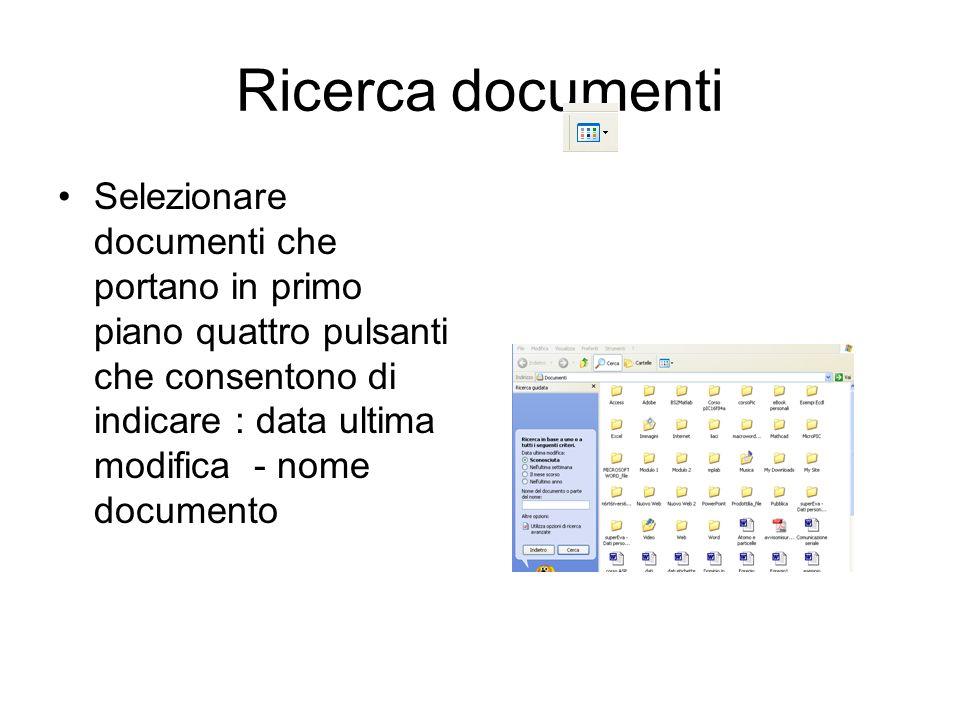 Ricerca documenti