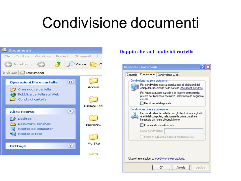 Condivisione documenti