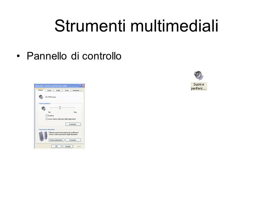 Strumenti multimediali