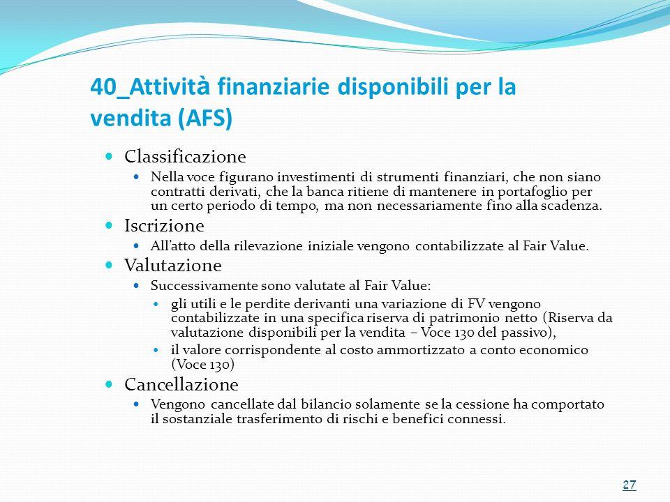 40_Attività finanziarie disponibili per la vendita (AFS)