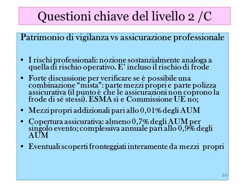 Questioni chiave del livello 2 /C