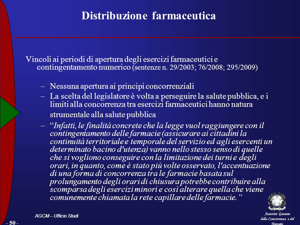 Distribuzione farmaceutica