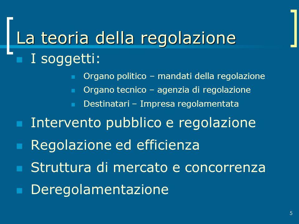 La teoria della regolazione