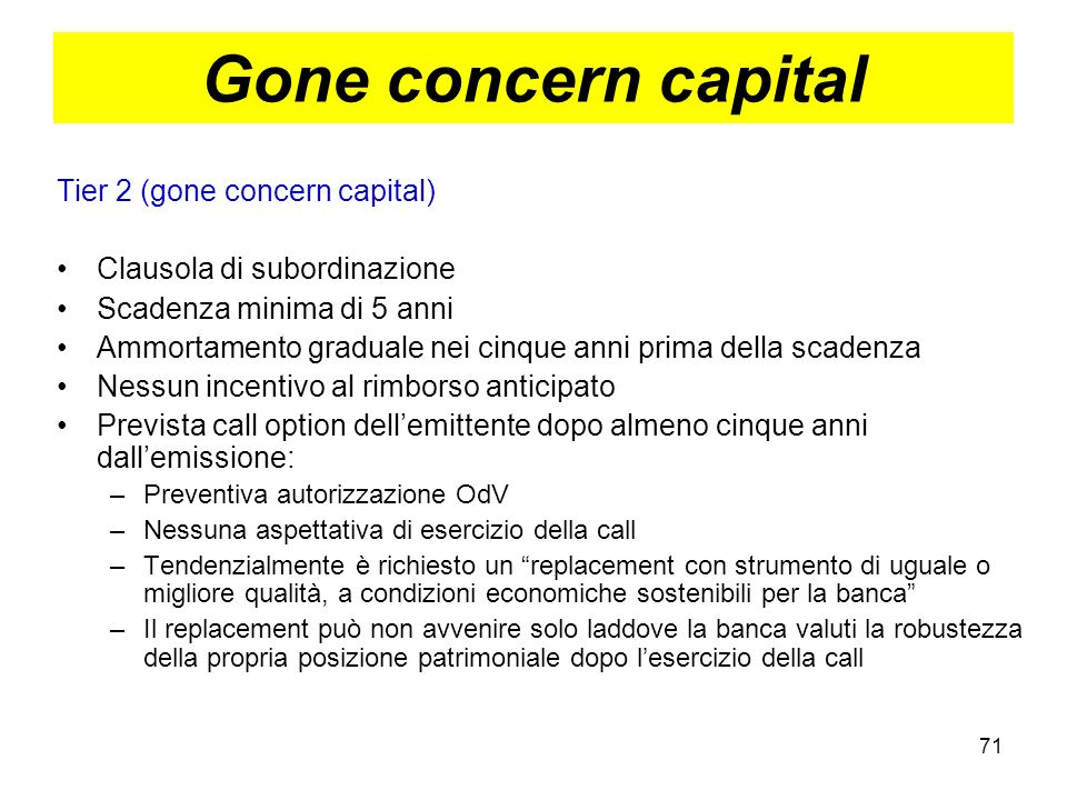 Gone concern capital Tier 2 (gone concern capital)