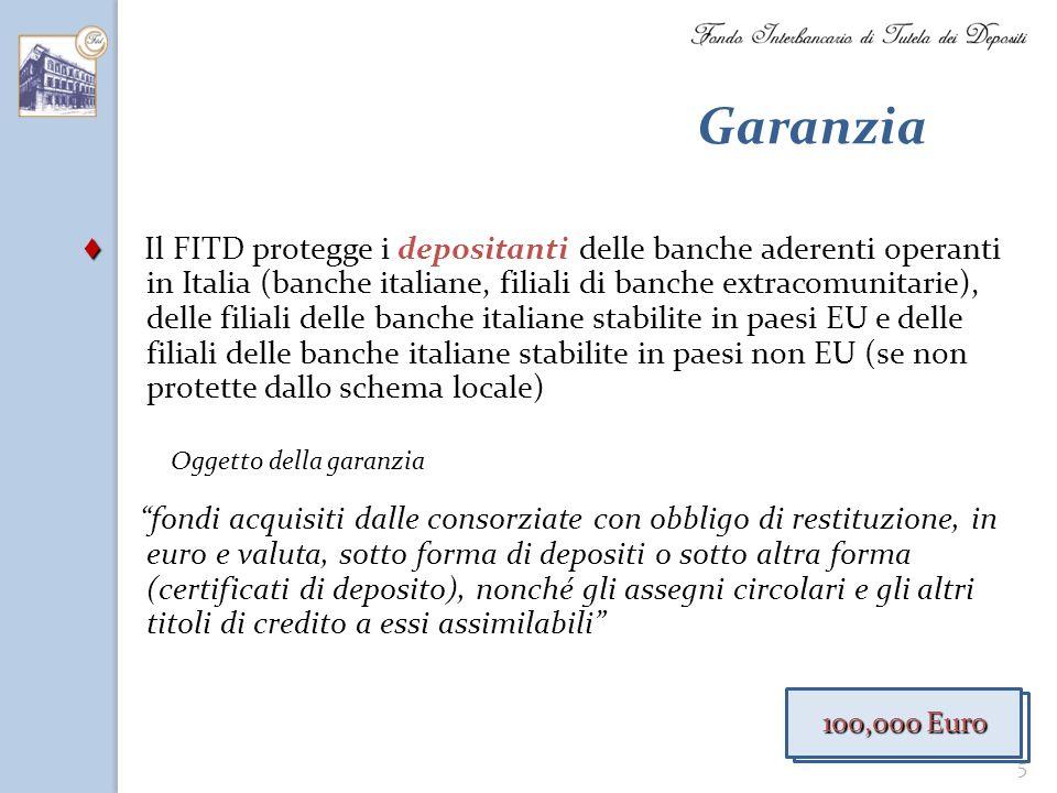Garanzia Oggetto della garanzia.