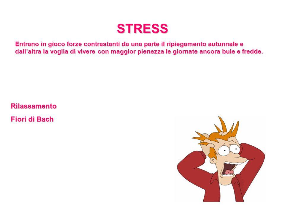 STRESS Rilassamento Fiori di Bach