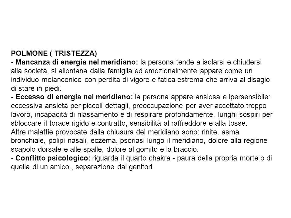 POLMONE ( TRISTEZZA)