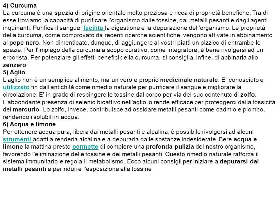 4) Curcuma