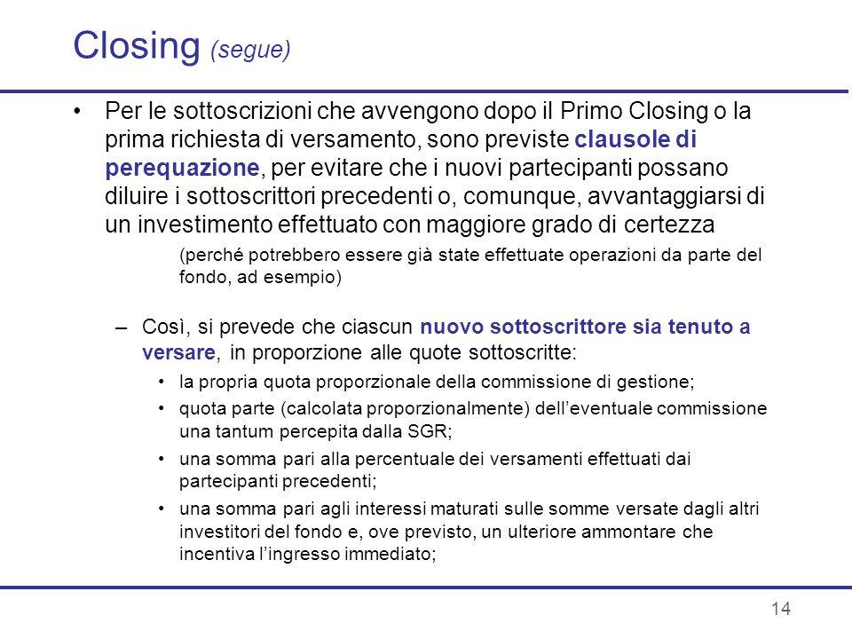 Closing (segue)