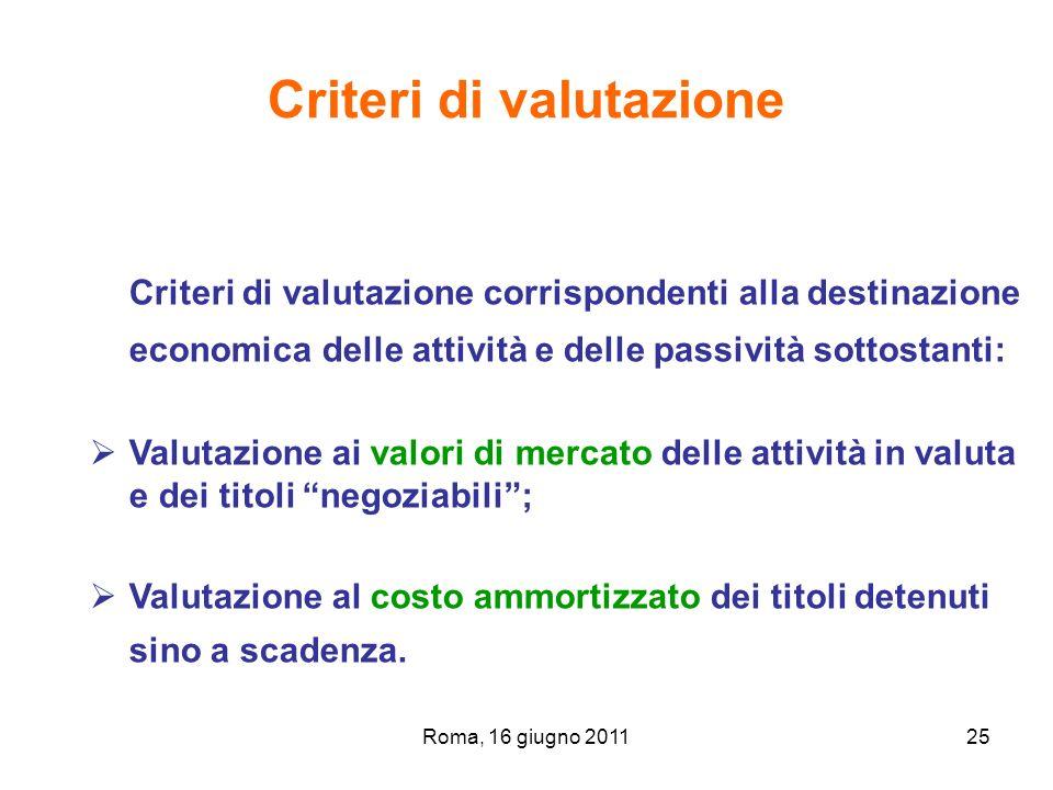 Criteri di valutazione