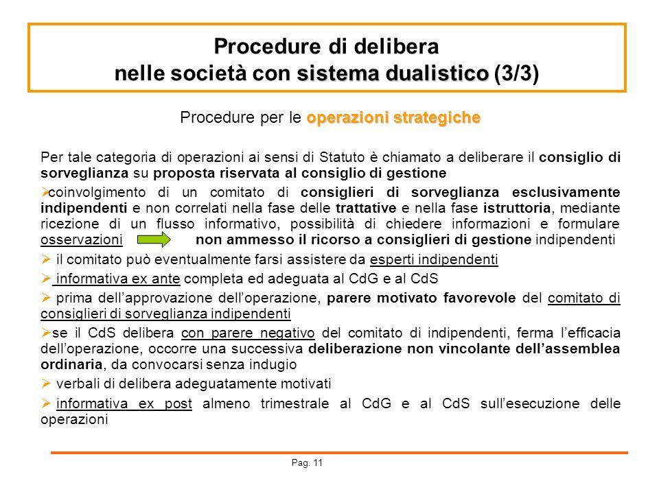 nelle società con sistema dualistico (3/3)