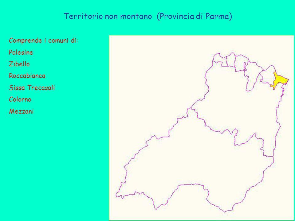 Territorio non montano (Provincia di Parma)