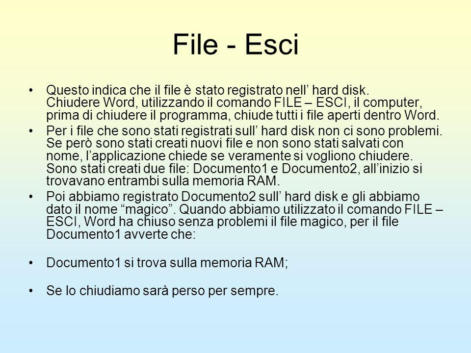 File - Esci