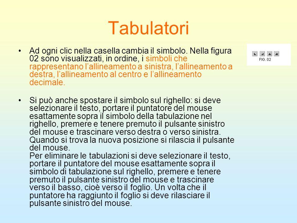 Tabulatori