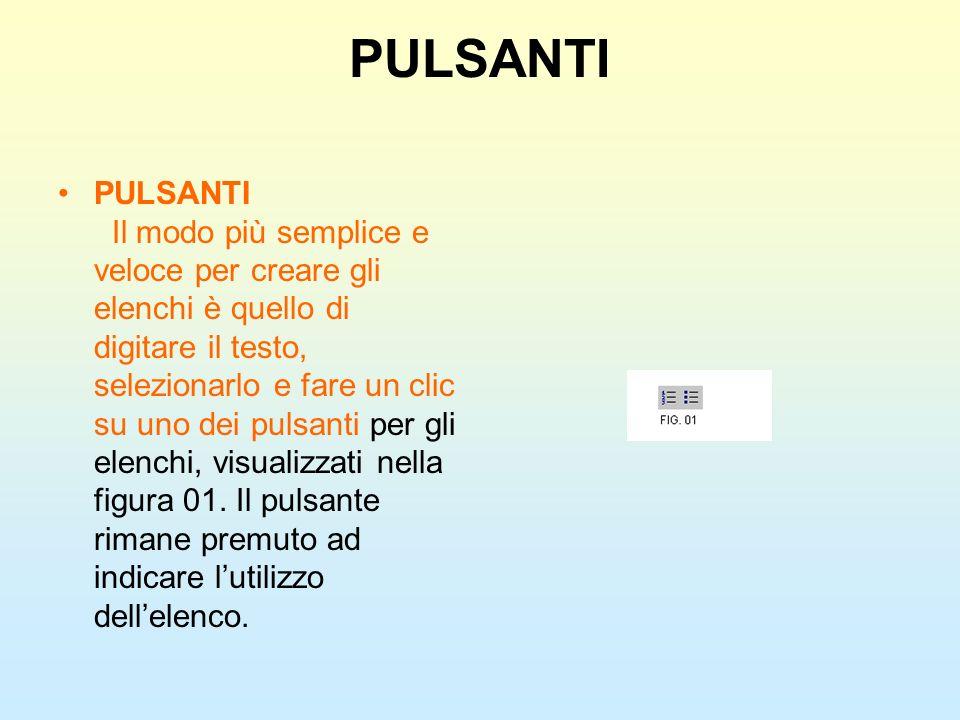 PULSANTI