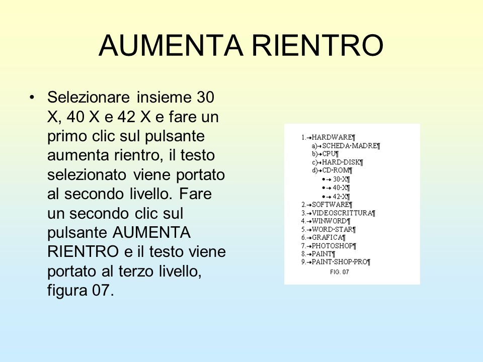 AUMENTA RIENTRO