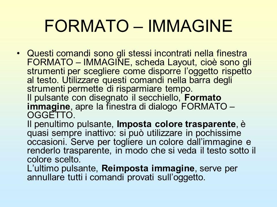 FORMATO – IMMAGINE