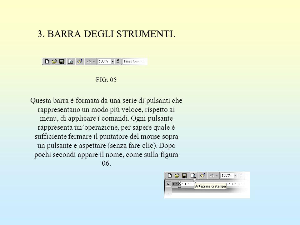 3. BARRA DEGLI STRUMENTI. FIG. 05