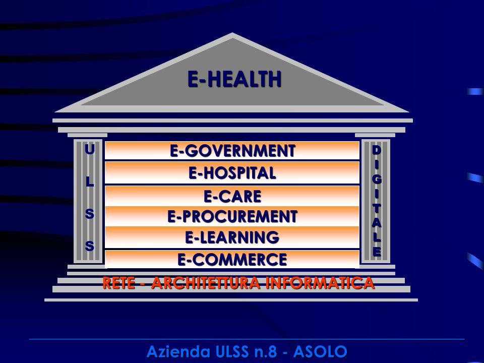 E-HEALTH E-GOVERNMENT E-HOSPITAL E-CARE E-PROCUREMENT E-LEARNING