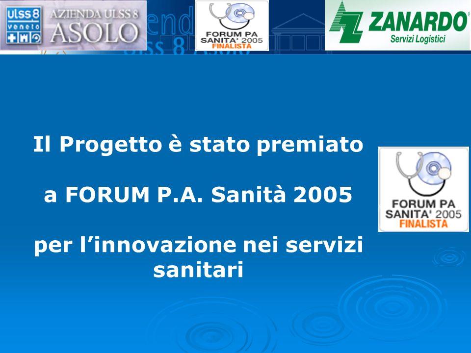 Il Progetto è stato premiato a FORUM P. A