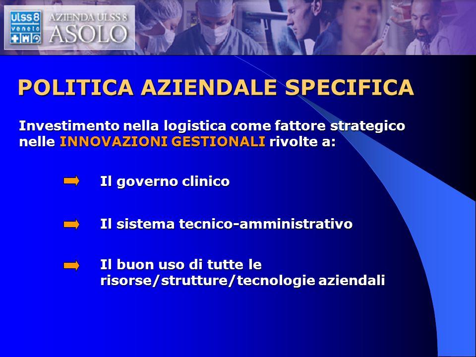 POLITICA AZIENDALE SPECIFICA