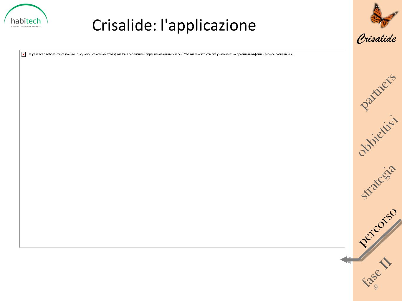 Crisalide: l applicazione