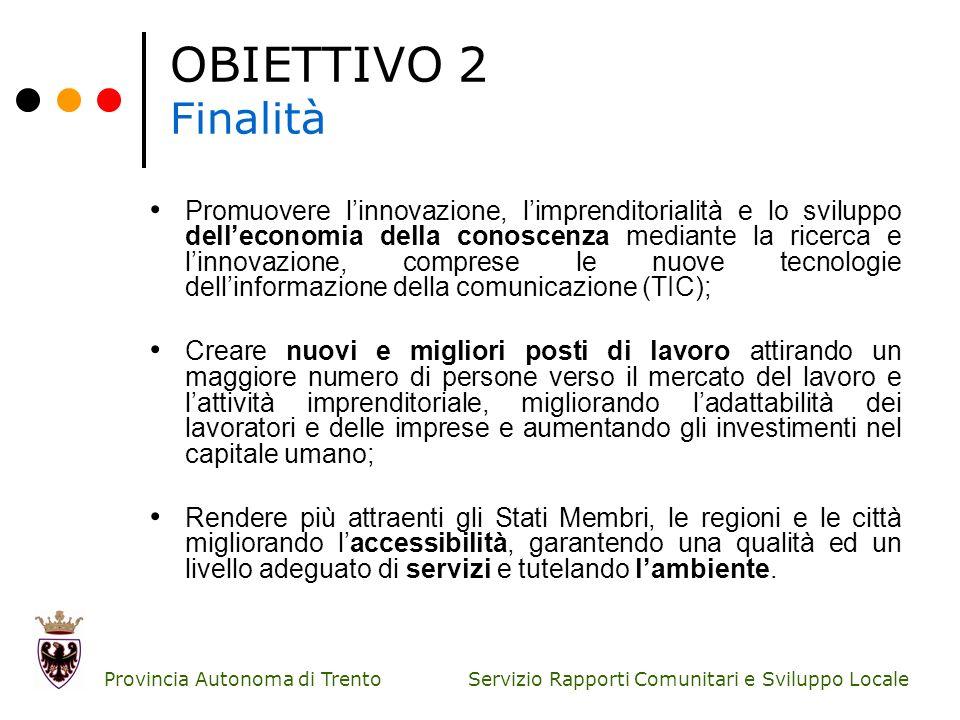 Servizio Rapporti Comunitari e Sviluppo Locale