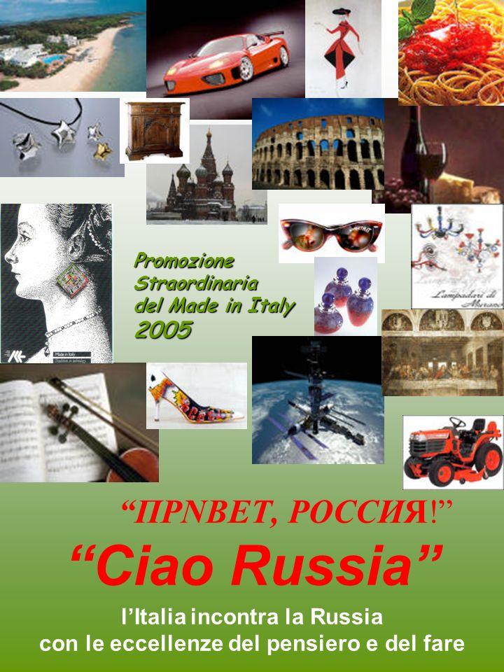 l'Italia incontra la Russia con le eccellenze del pensiero e del fare