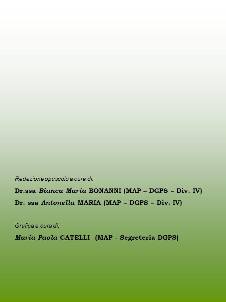 Dr.ssa Bianca Maria BONANNI (MAP – DGPS – Div. IV)