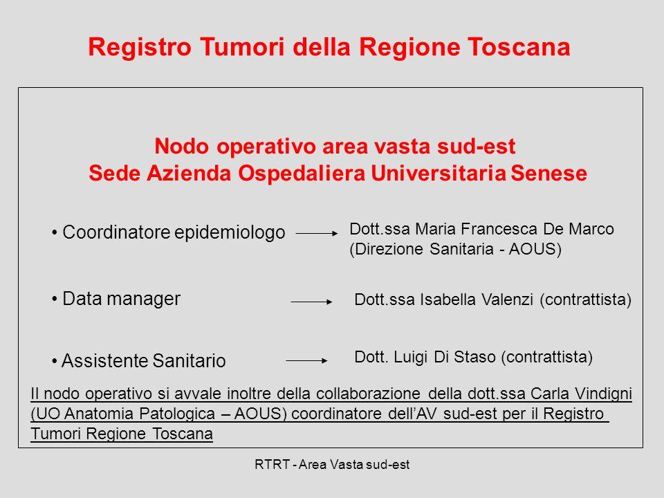 Registro Tumori della Regione Toscana
