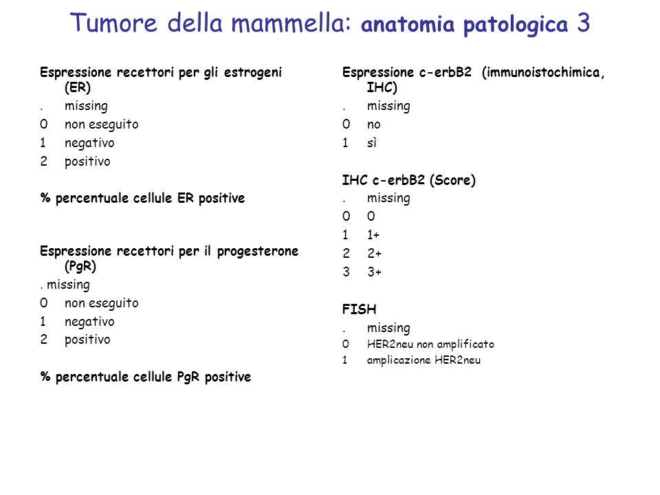 Tumore della mammella: anatomia patologica 3