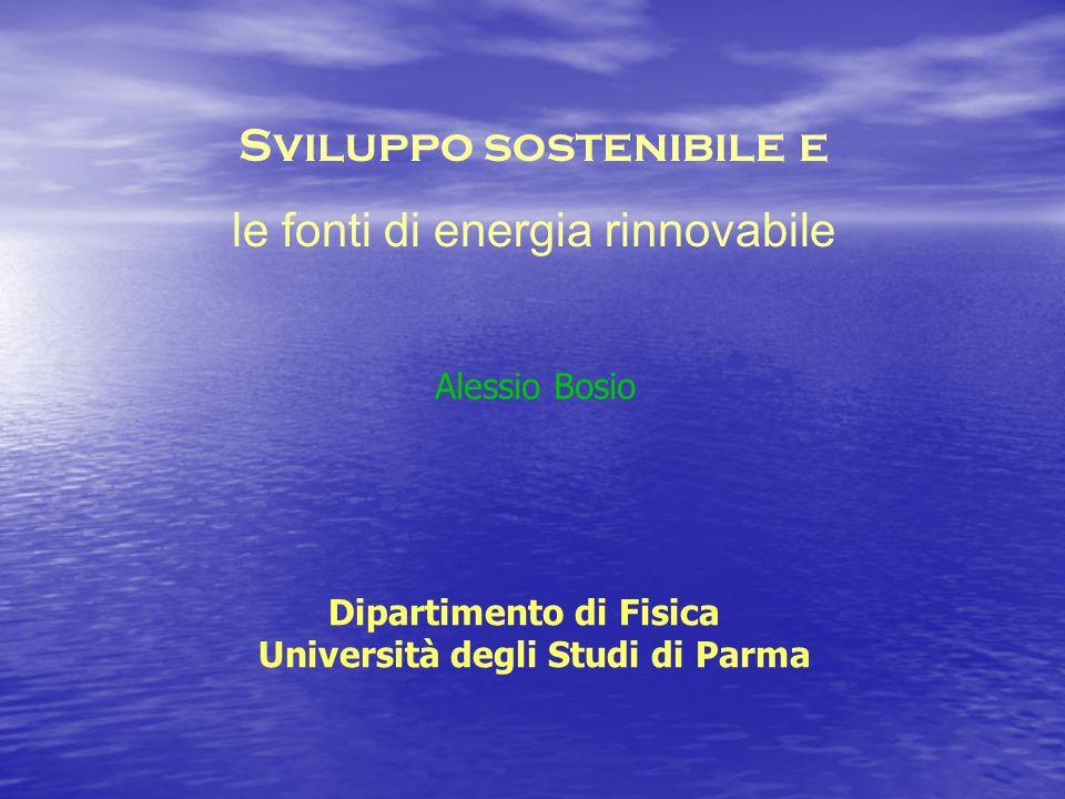 Dipartimento di Fisica Università degli Studi di Parma