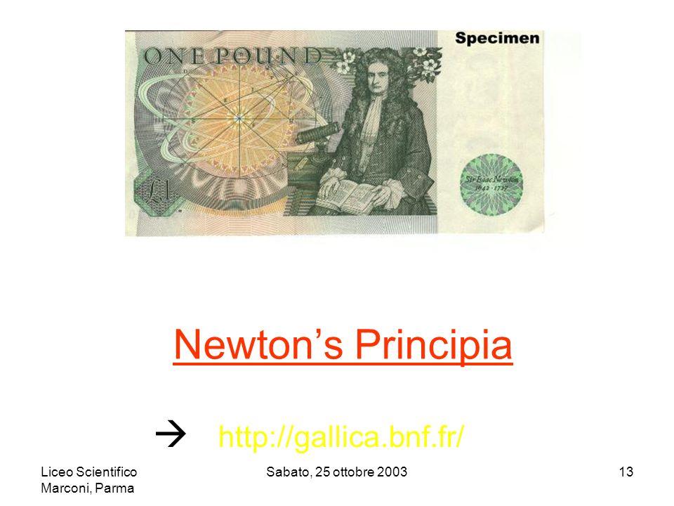 Newton's Principia  http://gallica.bnf.fr/
