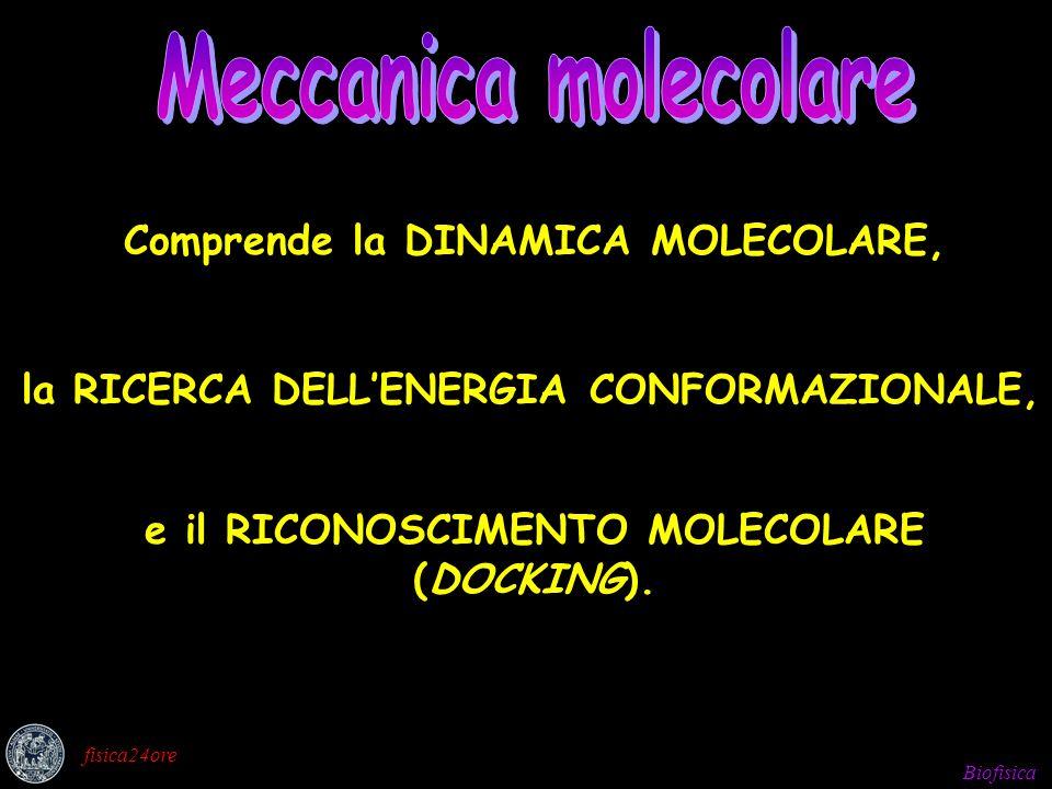 Meccanica molecolare Meccanica molecolare
